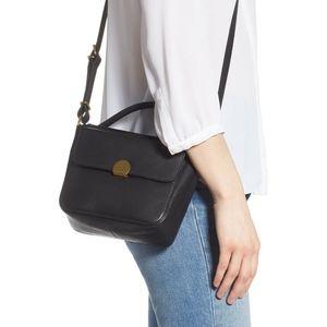 NWT Madewell The Mini Abroad Crossbody Bag Purse